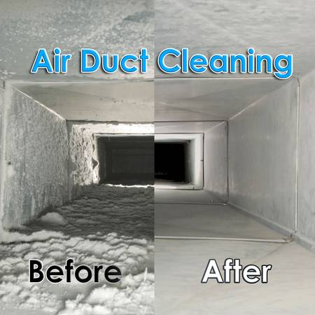 Vent Before and After Duct And Carpet Solutions Cleaned It